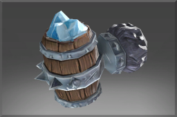 Rare Frozen Stein of the Bar Brawler