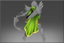 Cursed Uncommon Cloak of the Northern Wind