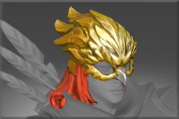 Rare Gilded Falcon Helm
