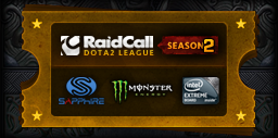 Uncommon RaidCall Dota 2 League Season 2
