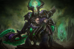 Mythical Loading Screen of the Abyssal Scourge