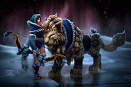 Snowstorm Huntress Loading Screen
