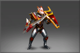 image for Enchanted Plate of the Crimson Wyvern Set