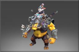 Rare Toxic Siege Armor Set