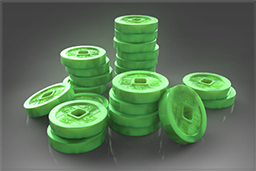 Pile of Jade Tokens Unpack this gift to earn 150 Jade Tokens.