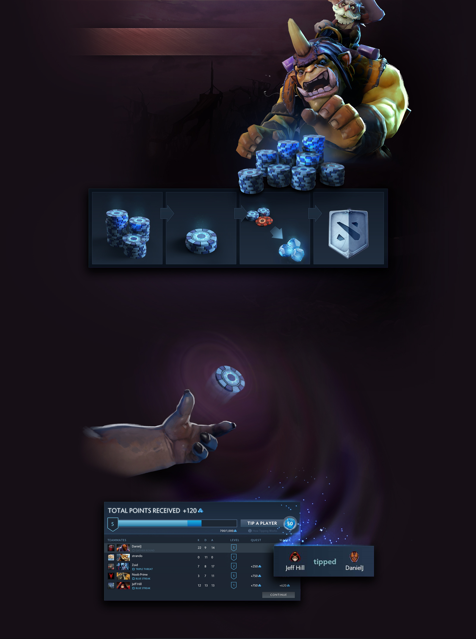 Lions unexisting left hand or just Abyssal Underlord : DotA2 Dota 2 Abyssal Underlord