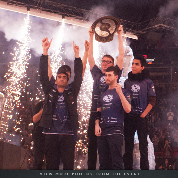I think team Dota 2 knew the EG roster change since Day 1