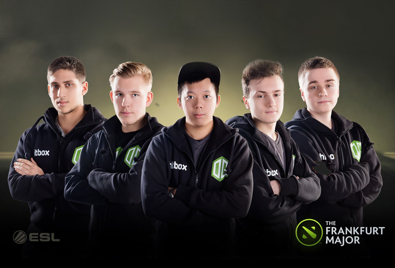 The Frankfurt Major Champions