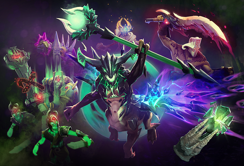 Dota 2 Immortal 12: Dota 2 :: Immortal Treasure II