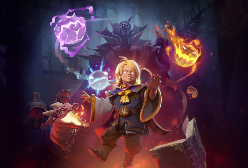 Acolyte of the Lost Arts — Invoker Hero Persona | Dota 2