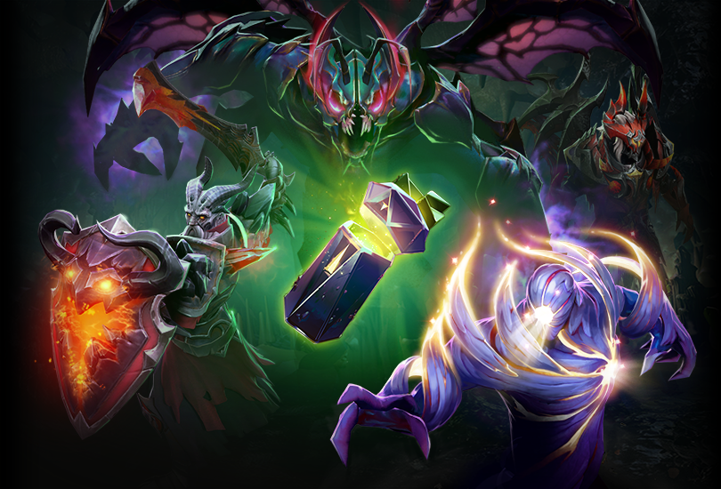 Immortal Dota 2 Items Wallpapers The Play Dota 2: The International 2018 Collector's Cache Volume II