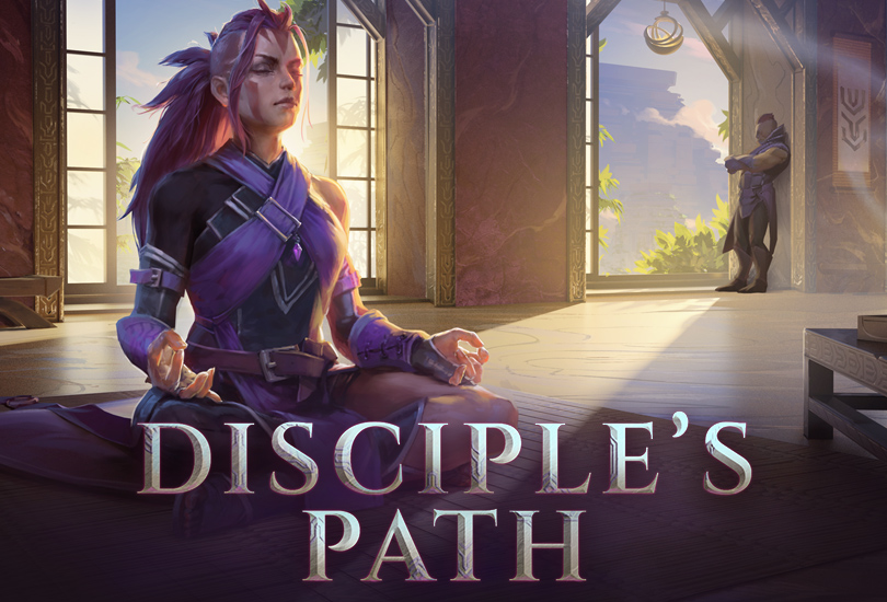The Disciple's Path — Anti-Mage Hero Persona