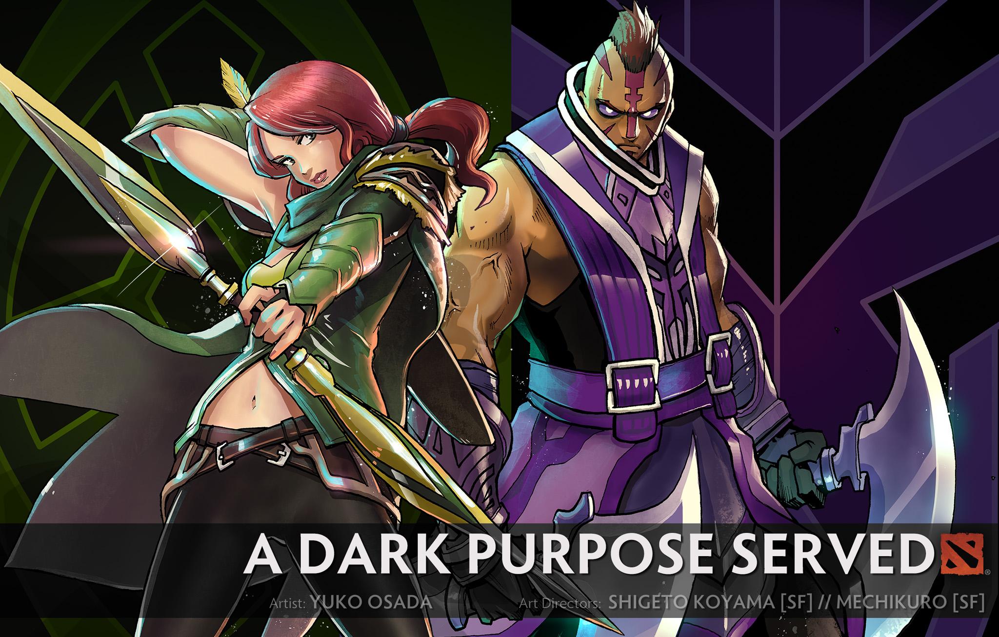 Dota 2 - A Dark Purpose Served