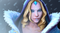Magnus looks like Crystal Maiden - Champion similar