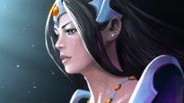 Zarya looks like Mirana - Champion similar