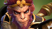 Grimstroke looks like Monkey king - Champion similar