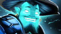 Slark looks like Storm Spirit - Champion similar