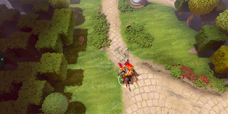 Dota 2 terrain