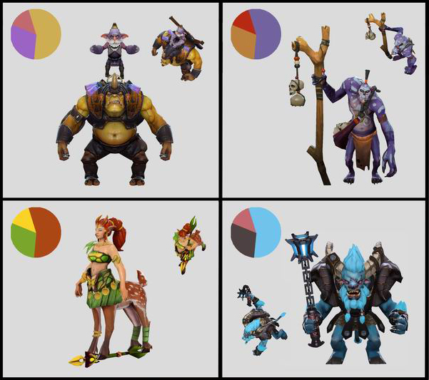Character Design Pdf : Dota workshop character art guide