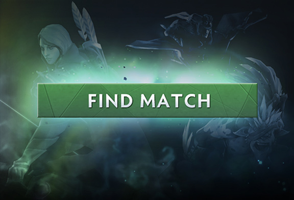 DotA 2 Auto godta matchmaking