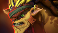 Earthshaker looks like Bristleback - Champion similar