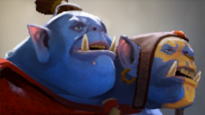 Gragas looks like Ogre Magi - Champion similar